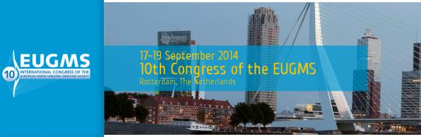 10° Congresso EUGMS – Rotterdam, 17-19 Settembre 2014